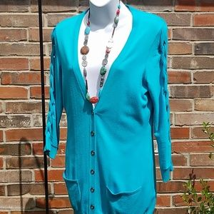 Etcetera Sweaters - Terrific in Turquoise!!😊😎